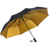 AC mini umbrella FARE®- Doubleface - black/gold