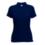65/35  Lady-Fit Polo, Deep Navy, XL, FOL