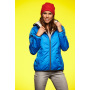 Ladies' Winter Sports Jacket royal/gebroken wit