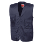 Safari Vest L Midnight Navy