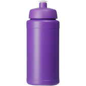 Baseline® Plus 500 ml flaska med sportlock - Lila
