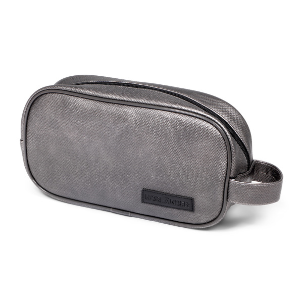 Norländer Xcite Cosmetic Bag Metallic Silver