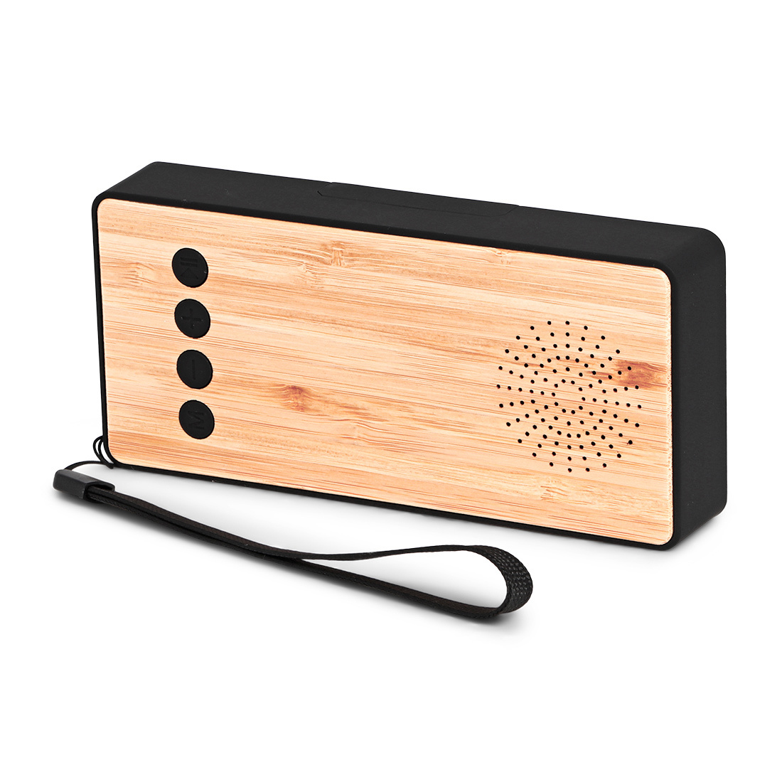 BRAINZ Powerbank+Speaker Bamboo