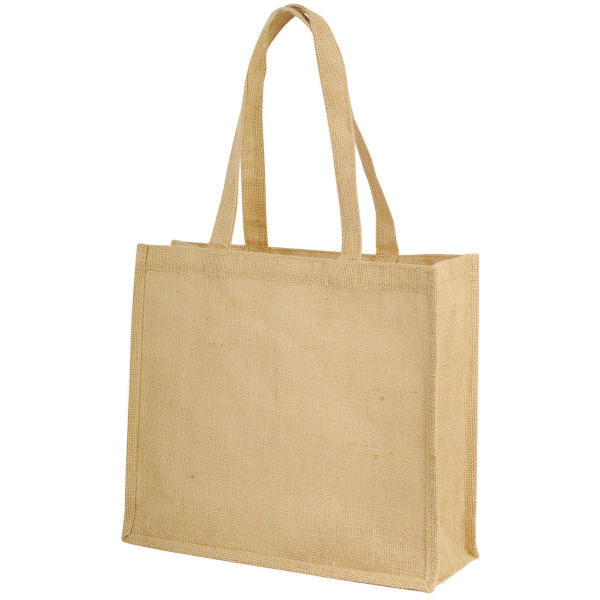 Shugon Long Handled Jute Shopper Bag