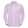 Men L/S Easy Care Oxford Shirt, Cl. Pink, M, RUS