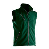 Jobman 7502 Light softshell vest bosgroen xl