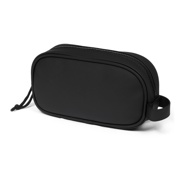 Norländer Dull PU Cosmetic Bag Black