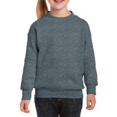 Gildan Sweater Crewneck HeavyBlend for kids Dark Heather XL