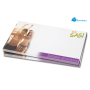 100 vels Memoblad, 125x72mm, full-colour - Wit