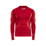Craft Progress baselayer cn LS men bright red xs