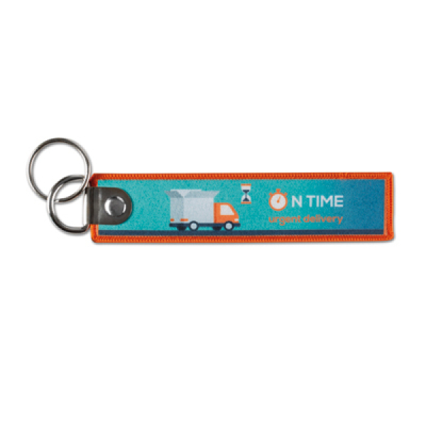 Sublimation key tag