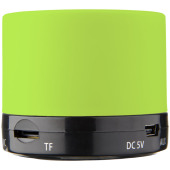 Duck cilinder Bluetooth® speaker met rubberen afwerking - Lime