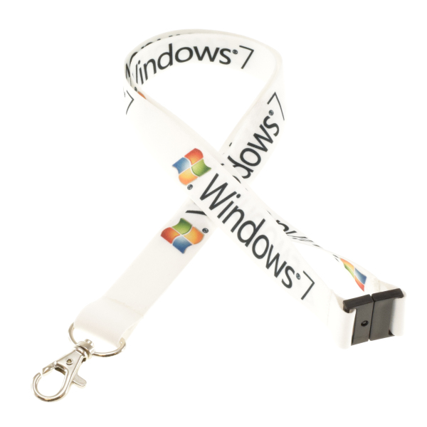 Full colour promo safe keycord
