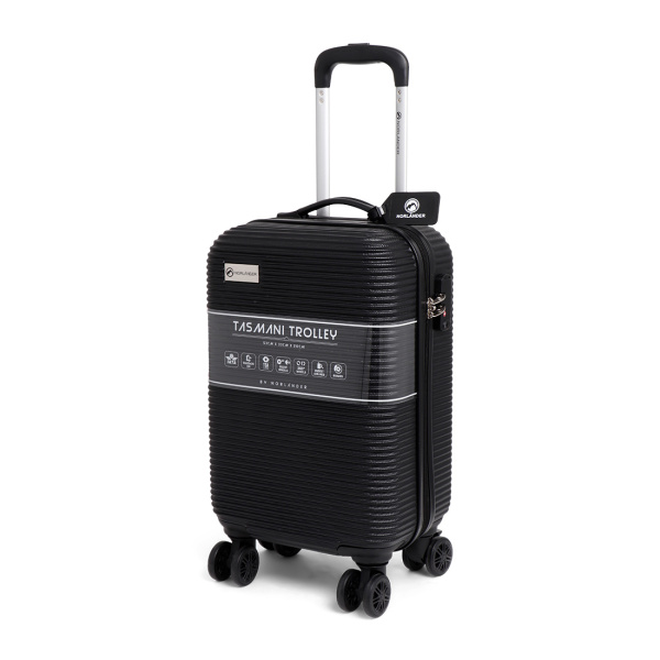 Cabin Size Norländer Tasmani Trolley with Brakes Black