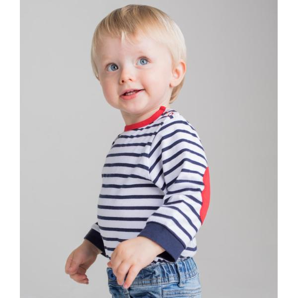 Baby/Toddler Striped Long Sleeve T-Shirt