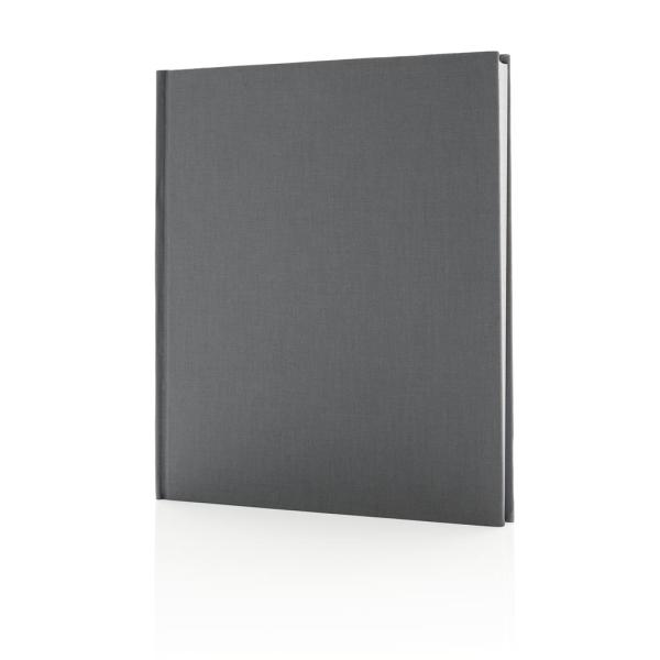 Deluxe notitieboek 210x240 mm, zwart