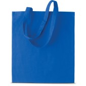 Basic shopper royal blue one size