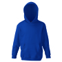 Kids Classic Hooded Sweat, Navy, 7-8jr, FOL