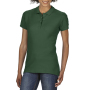Gildan Polo Softstyle Double Pique SS for her Forest Green XXL