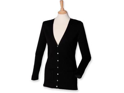 Ladies' lightweight v cardigan