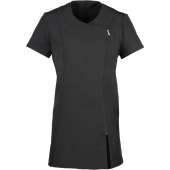 'camellia' beauty & spa tunic black / black s (10 uk)