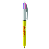 4 Colours Sun ballpen LP yellow_UP white_RI black