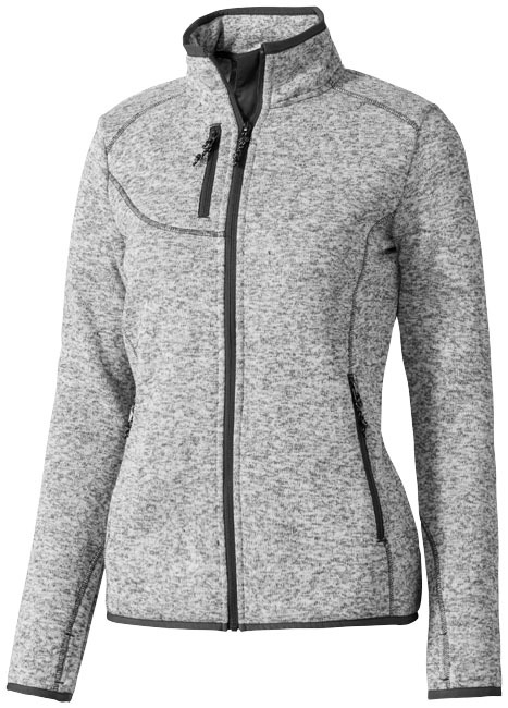Tremblant gebreid dames jack - HEATHER GREY - L