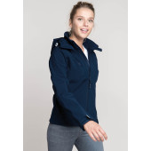 Dames hooded softshell jas
