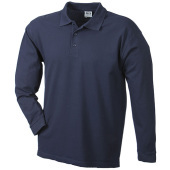 Polo Piqué Heavy Long-Sleeved