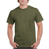 Gildan T-shirt Ultra Cotton SS Military Green S