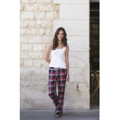 Women's tartan lounge trousers