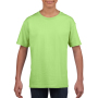Gildan T-shirt SoftStyle SS for kids Mint Green XS