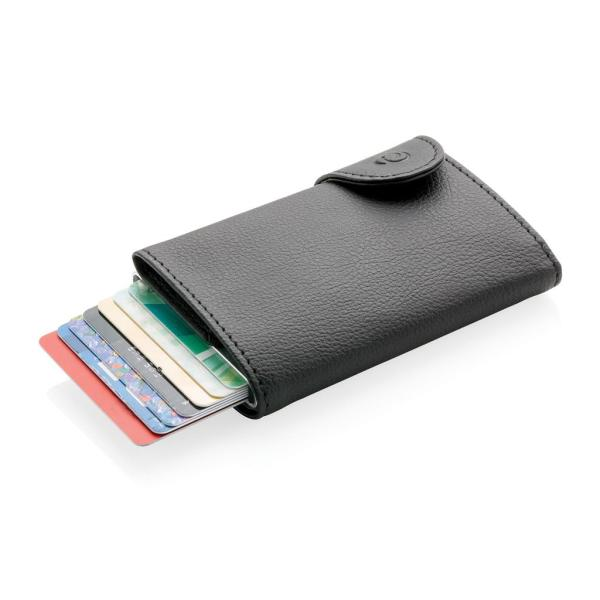 C-Secure RFID card holder & wallet, black