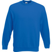 Classic set-in sweat (62-202-0) royal blue 3xl