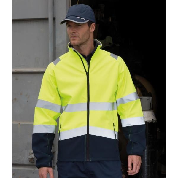 Printable Safety Soft Shell Jacket