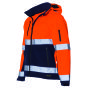 Softshell ISO20471 Bicolor 403007 Fluor Orange-Navy 3XL