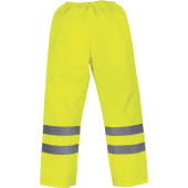 Hi vis waterproof over trousers