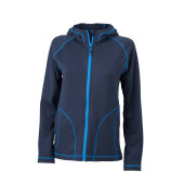 Ladies' Stretchfleece Jacket - navy/kobalt