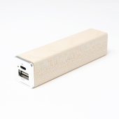 Power Bank Wood Tube