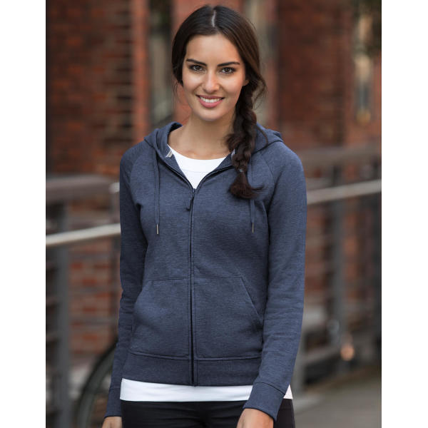 Ladies' HD Zipped Hood Sweat