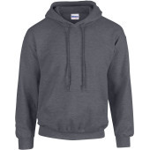 Heavy blend™ classic fit adult hooded sweatshirt dark heather xxl