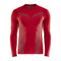 Craft Pro Control seamless jersey ls men bright red xxl