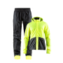 Transit rain set men black/flumin xs