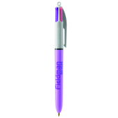 4 Colours Fashion ballpen LP purple pastel_UP white_RI black