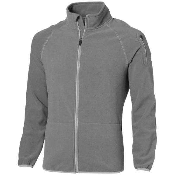 Drop Shot fleece heren jas met ritssluiting