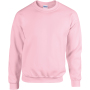 Heavy blend™ adult crewneck sweatshirt light pink xl