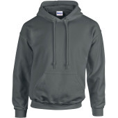 Heavy blend™ classic fit adult hooded sweatshirt charcoal xxl