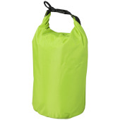 Camper 12.5 L waterdichte outdoor tas - Lime