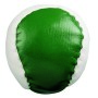 Anti stress bal JUGGLE - groen, wit
