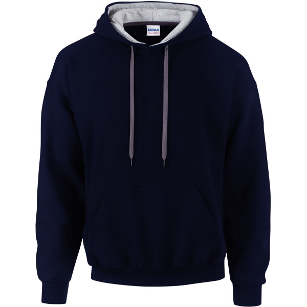Heavy blend™ classic fit adult contrast hooded sweatshirt